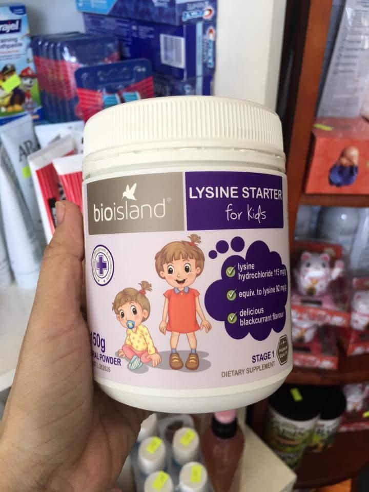 Bột lysine tăng cân tăng chiều cao